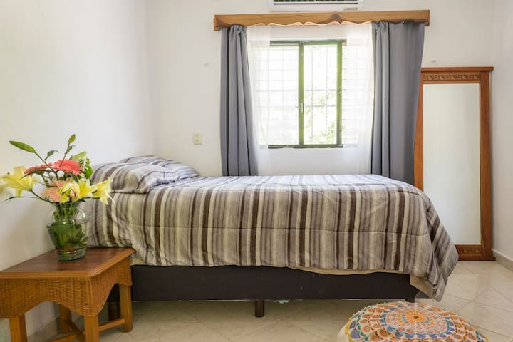 This room was designed to provide our guests with all the comfort and relaxation they deserve  Serenety & memory double bed Non-smoking Air conditioning  Black-out curtains