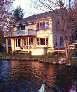 Lake House with private dock, boats - Littleton