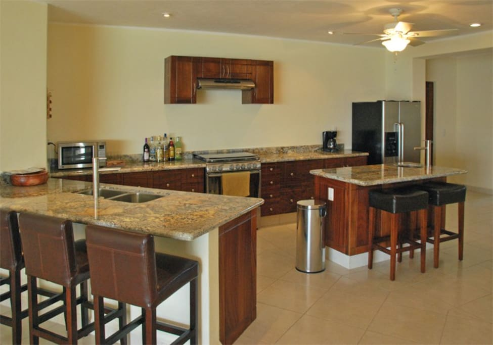 New condo features high end finishes and stainless steel appliances.