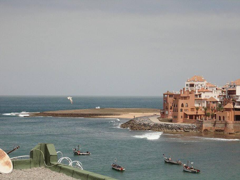 Plage Bouznika Nord