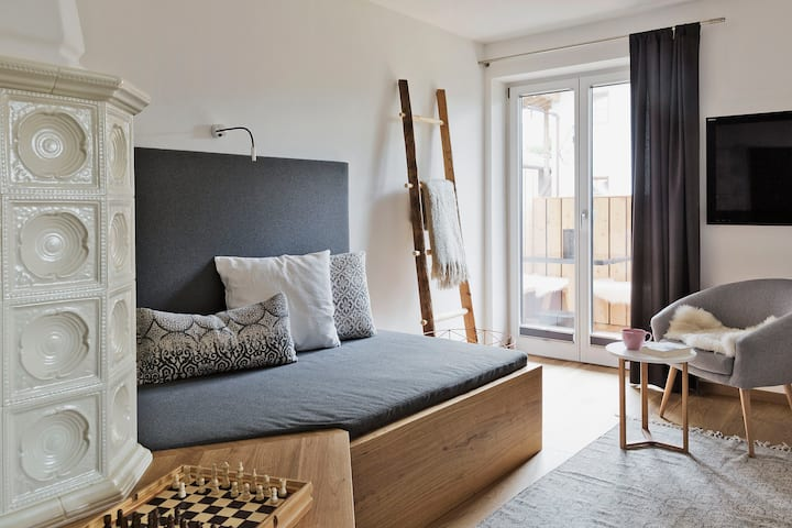 BEWEGTE BERGE I Appartement 1 mit privaten Garten