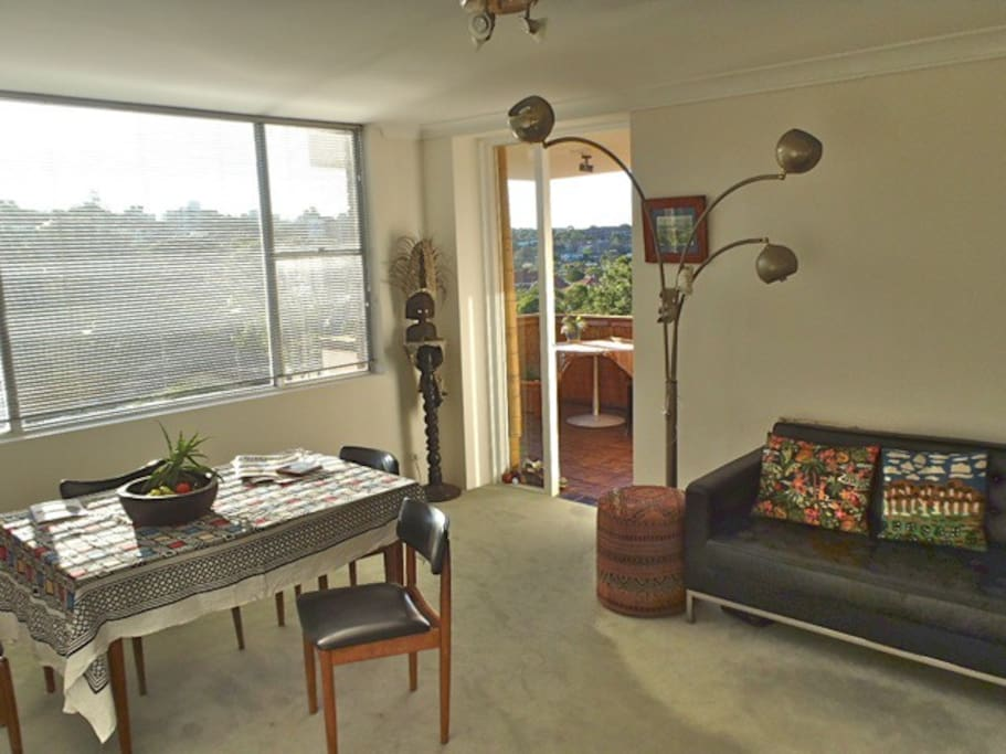 Another view of the living room, this one looks west.