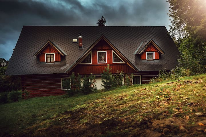 Cosy Log House Apartment - Benecko