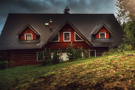 Cosy Log House Apartment - Benecko - Naturstuga