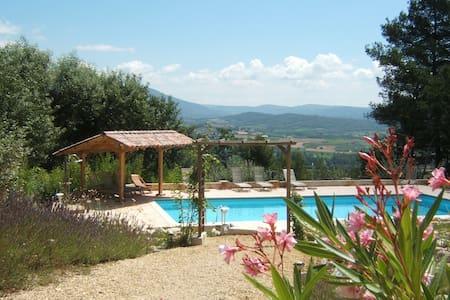Luberon, charming rooms, private pool great views - Saint-Saturnin-lès-Apt - 別墅