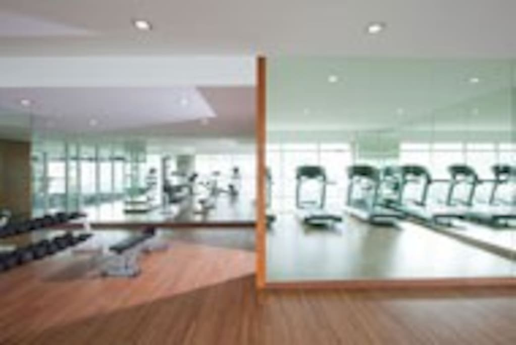 Take some time off for a workout ( picture courtesy of Silka Maytower Hotel)
