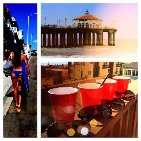 Ocean view beach condo/Holiday! - Manhattan Beach - House