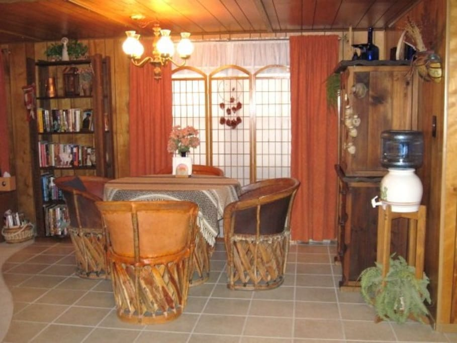Dining Area featuring Mexican dining set.