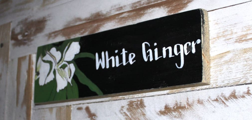 White Ginger room
