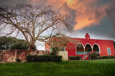 Loft en hacienda cerca de Mérida