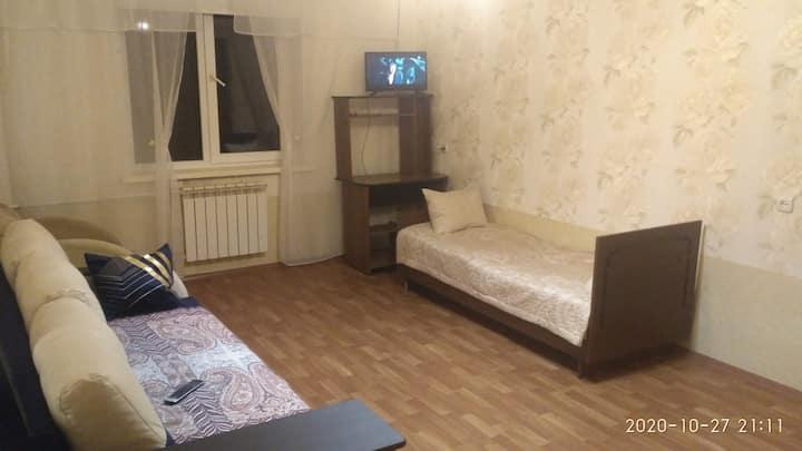 Отдельная однокомнатная квартира со всеми удобств.
