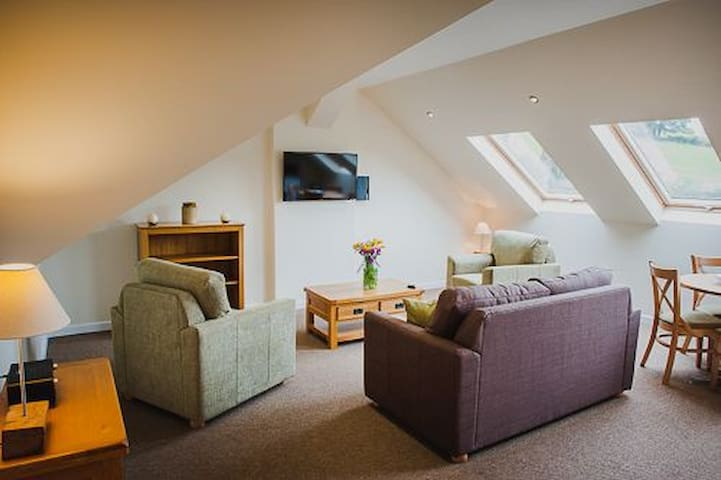 The Hayloft - Burrington, Ludlow - Pis