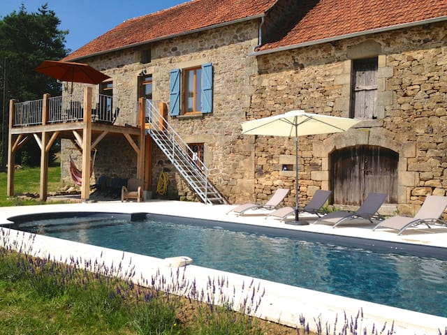 Luxury Farmhouse in Dordogne Valley - Lostanges - Casa