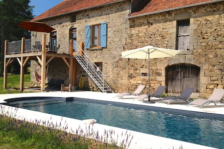 Luxury Farmhouse in Dordogne Valley - Lostanges - Huis
