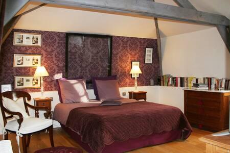 Chambres d'hôtes Cerisier 2- 3 personnes - Berville-sur-Mer - Casa de hóspedes