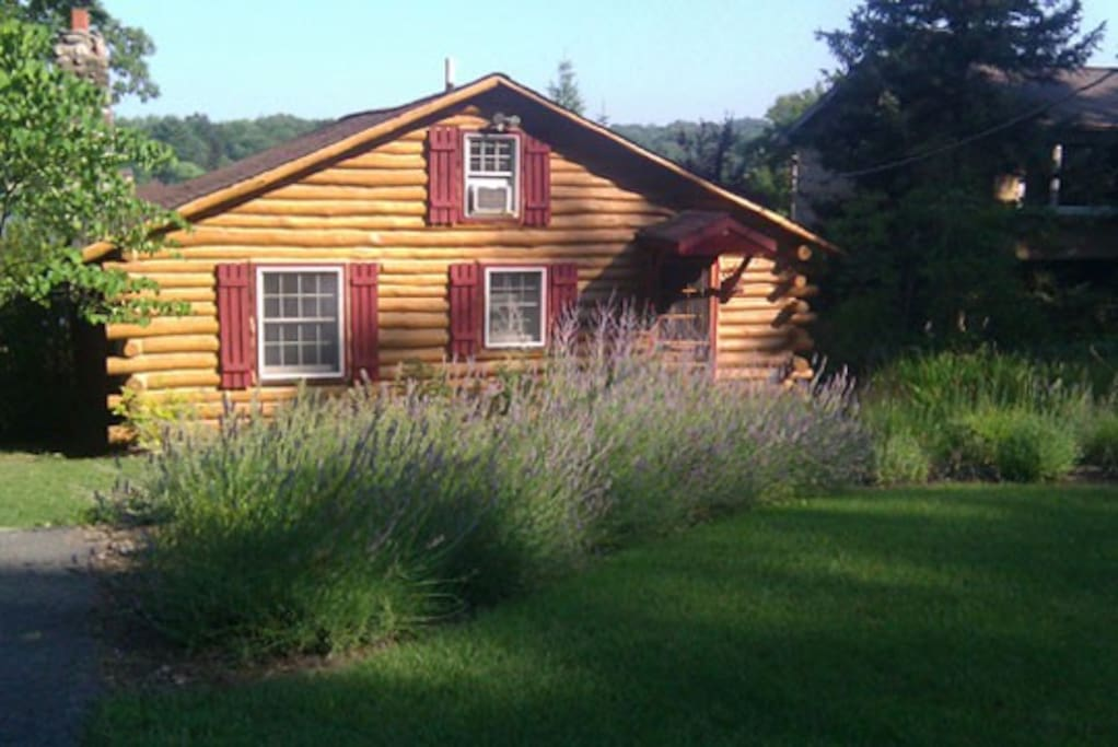 Amazing lake front nyc getaway cabins for rent in west for Cabin getaways in nj