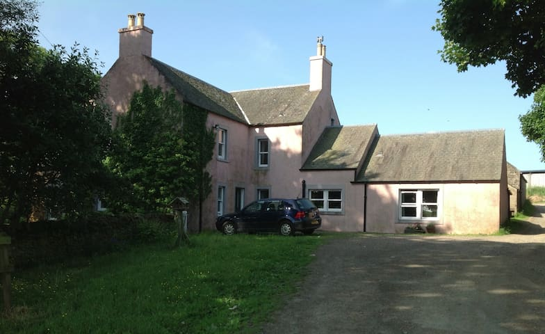 Lovely Farmhouse, Scottish Borders - Oxton - Hus