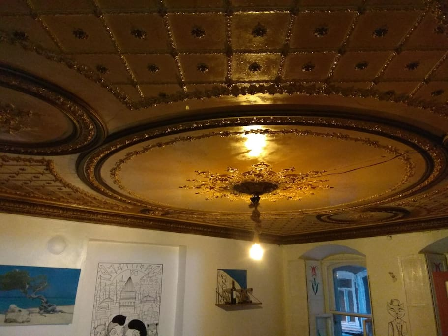 Pictures of April 2018, ceiling