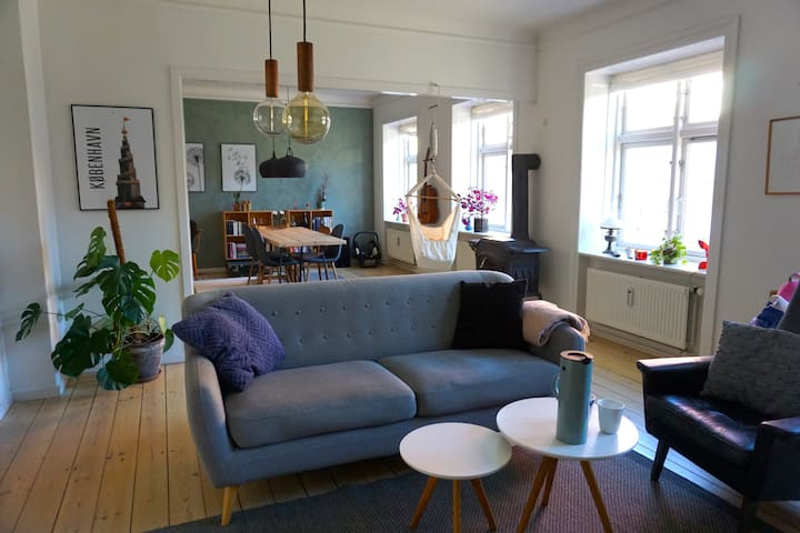 Apartment in the middle of trendy Nørrebro