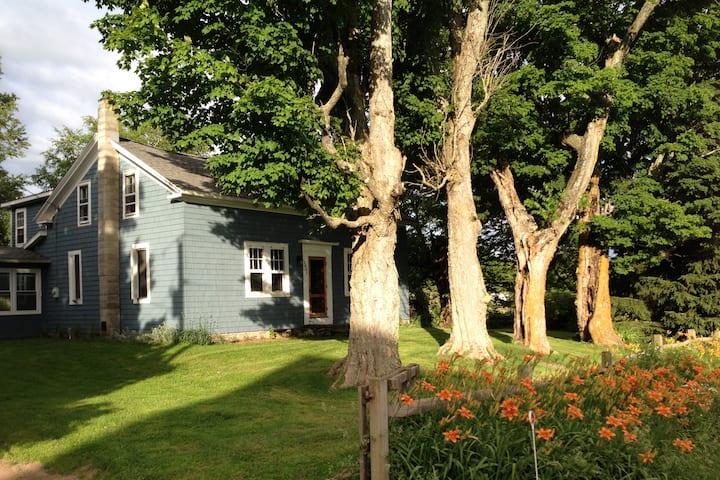 BlueHouse 1880's Farmhouse-18 acres
