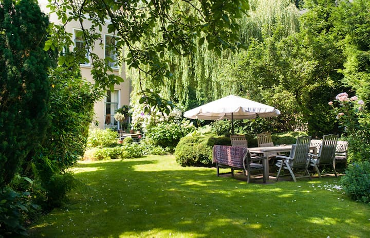Private realm in glorious garden