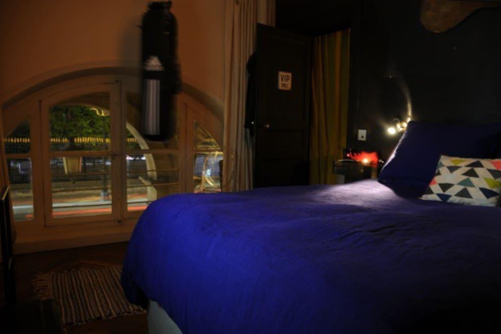 chambre à coucher, lit confort Coco Mat