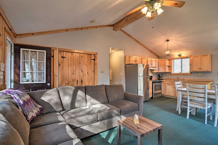 NEW! Snowmobiling & Hunting Cabin on Groomed Trail