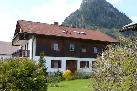 "Holiday apartment ""Haus Grietje"" in Pfronten (Allgäu), is a beautiful Apartment, with all common luxury provided for your family and friends, up to 5 persons."