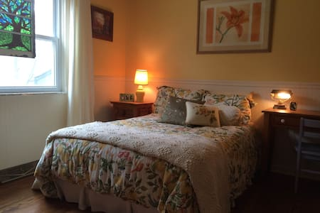 Private Room with Double Bed - New Albany - Casa