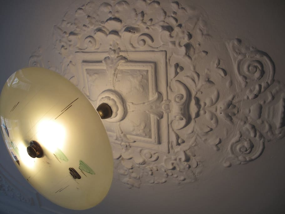 Original ceiling from the 1890's.