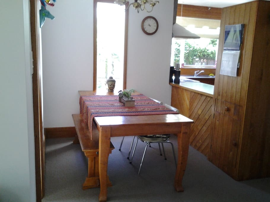 Large 7 seater Dining table to enjoy your meals