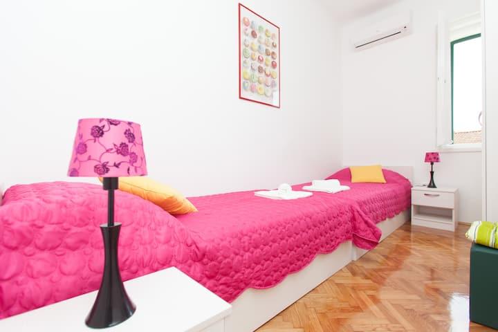 Colourful room in Split center