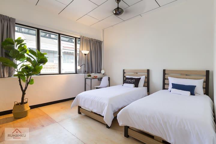 Asia Exec Room, Rumahku Express, Georgetown乔治市亚洲套房