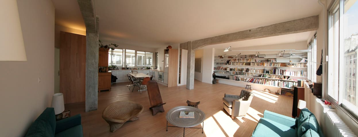 City Center 180 m². Loft due south  - Paříž - Byt