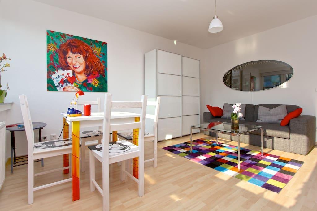 Mini Wohnung Mitten im Zentrum