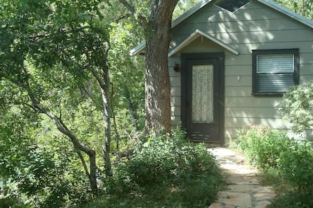 GraceGardens:  Rustic Oak Cabin - Martindale