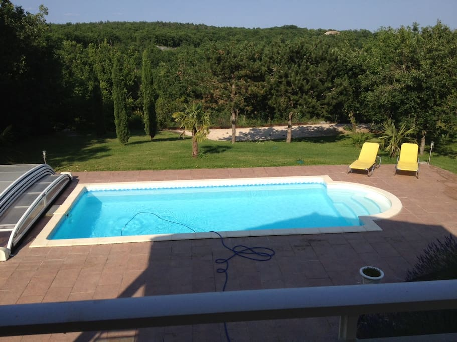 House pool garden south west france houses for rent in for Garden pool west allis