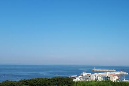 오션뷰+일출 전망 안락한 숙소 Ocean + Sunrise View