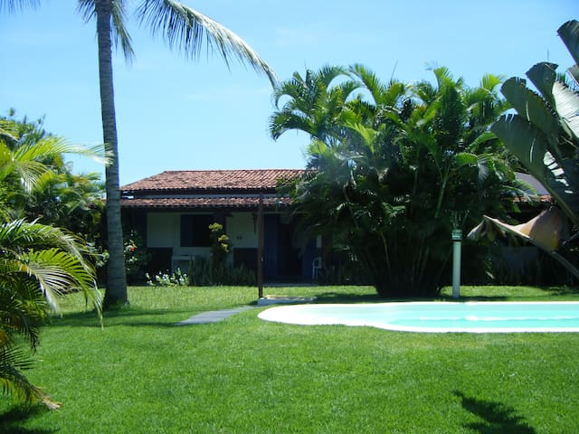 Beija Flores Itaparica: Double Rm 2 - Itaparica - Bed & Breakfast