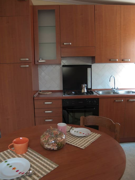 la cucina...