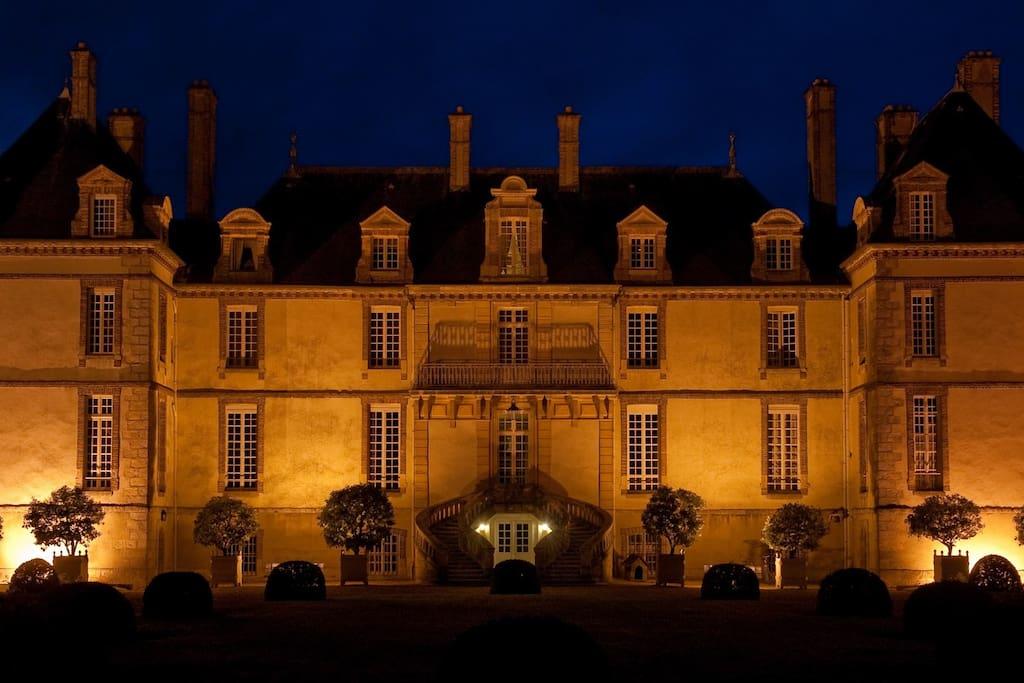 Illumination du château de Bourron