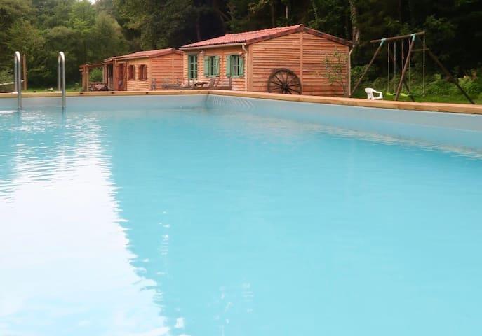Riverside Retreat at La ferme du lac