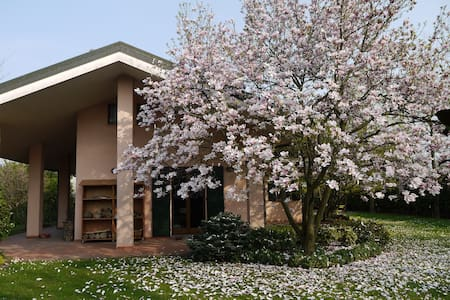 Apartment with garden in the park - Cernusco Lombardone - Apartment