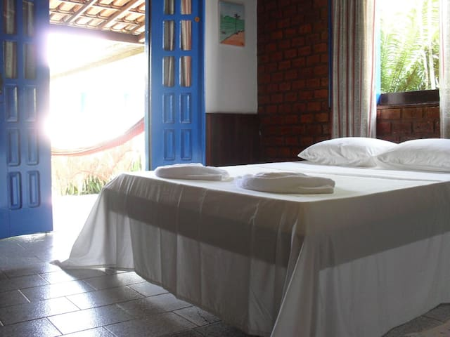 Beija Flores Itaparica: Double Rm 6 - Itaparica - Bed & Breakfast