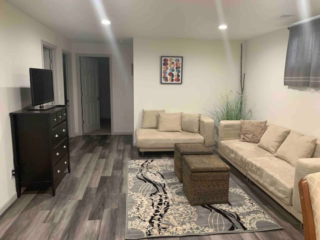 *Polished Basement Apt near the Foothills and CSU*
