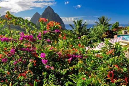 La Haut Resort-Cocoa House - Soufriere, Saint Lucia - Gästehaus