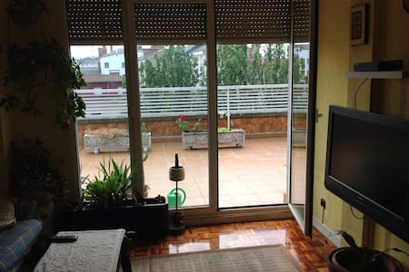 Atic in the centre,near bus station - Vitoria - Apartament
