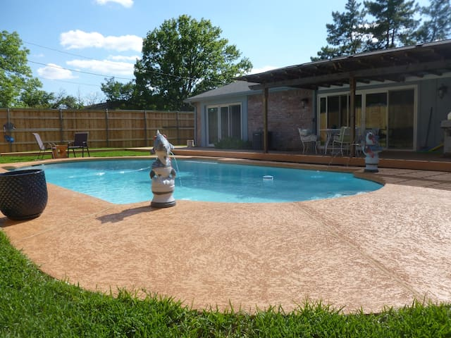 Arlington, Texas - Sweet Little Private Pool Home