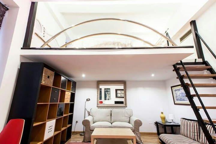 Loft apartment in HUERTAS