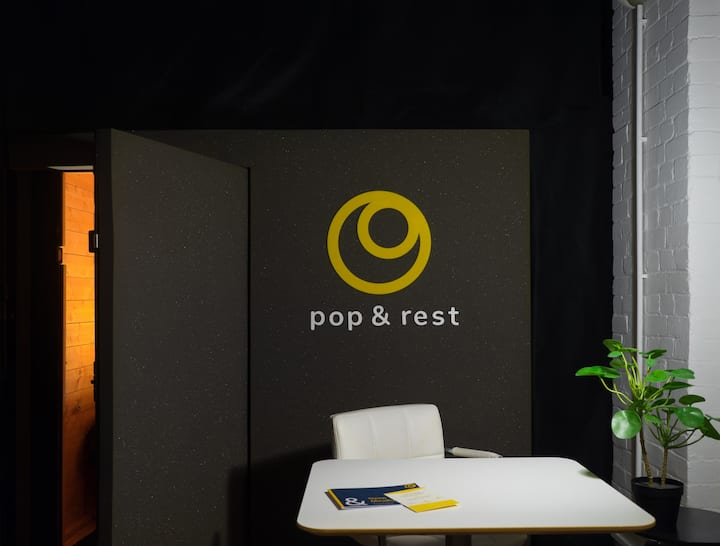 Sleep Pods in Shoredictch  - PopnRest